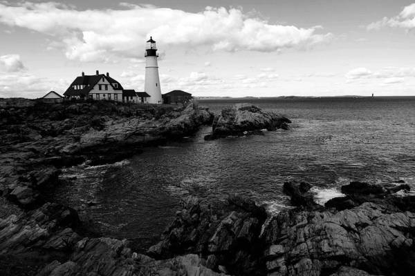Lighthouse Art Print featuring the photograph Portland Head Light by Filipe N Marques