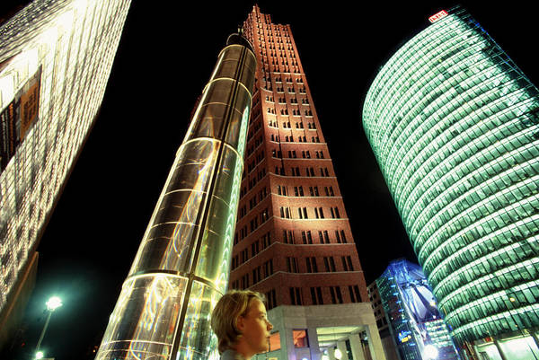 Berlin Art Print featuring the photograph Potsdamer Platz Berlin by Brad Rickerby
