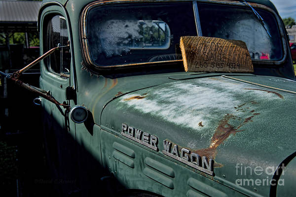 Power Wagon Art Print featuring the photograph Power Wagon by David Arment