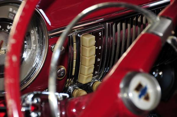 Antic Car Art Print featuring the photograph Push Buttons by David Lee Thompson