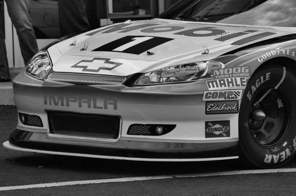 Art Print featuring the photograph Race Car Front by Gerald Kloss