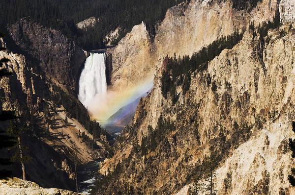 River Art Print featuring the photograph Rainbow Falls by Chad Davis