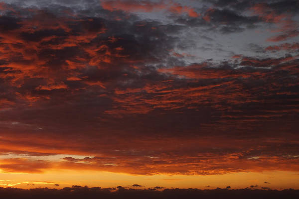 Sunset Print featuring the photograph Reach For The Sky 12 by Mike McGlothlen