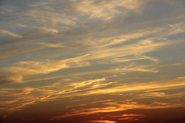 Colorful Clouds Art Print featuring the photograph Reach For The Sky 7 by Mike McGlothlen