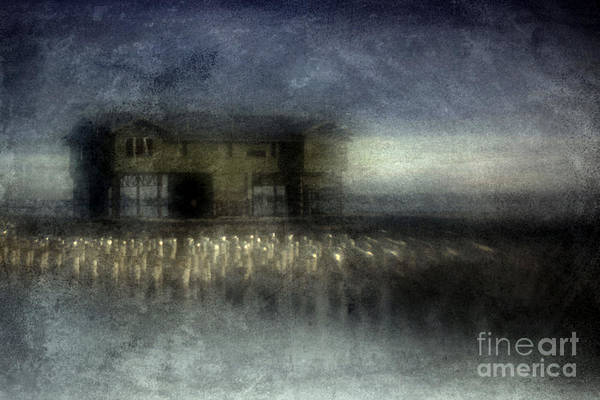 Blue Art Print featuring the photograph Recurrent Dream by Andrew Paranavitana