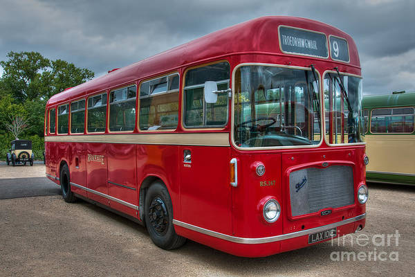 Lax 101e Art Print featuring the photograph Red And White Rs 167 - Bristol Resl6l #2 by Steve H Clark Photography