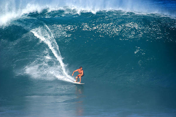 Da Hui Backdoor Shootout Art Print featuring the photograph Reef's Madness by Kevin Smith