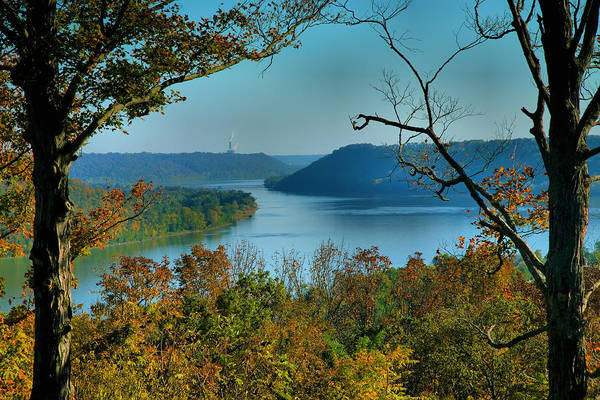 Scenic Art Print featuring the photograph River View I by Steven Ainsworth