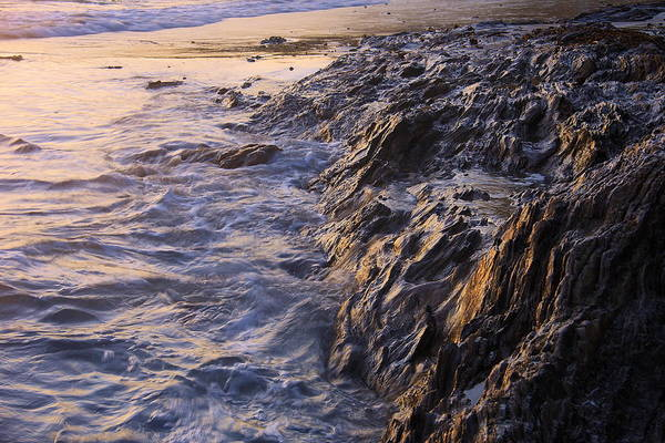 Beach Art Print featuring the photograph Rock by Viktor Savchenko