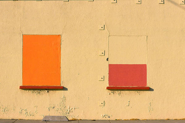 Oakland Art Print featuring the photograph Rothko Wall Oakland by Art Ferrier