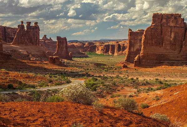 Art Print featuring the photograph Rugged Journey by Eric Bass