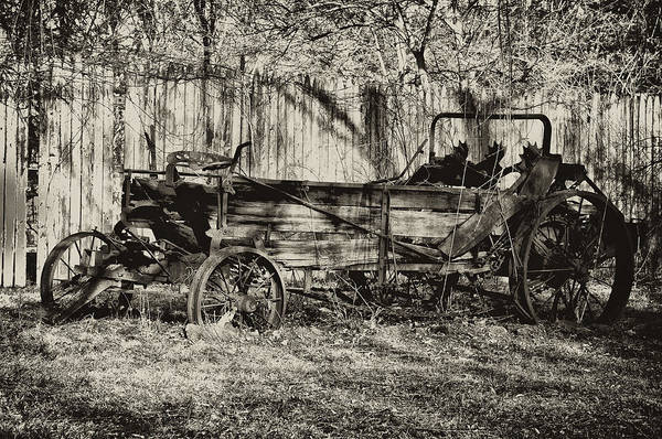 Farm Art Print featuring the photograph Rust Bucket by Bill Cannon