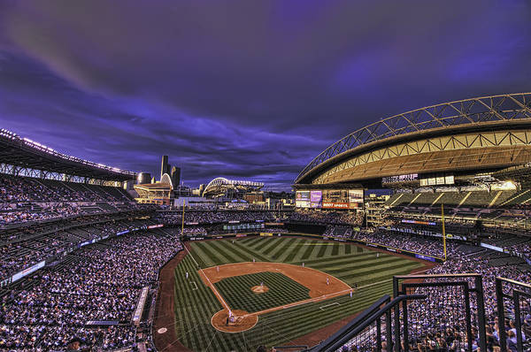 safeco Field Print featuring the photograph Safeco Field by Dan McManus