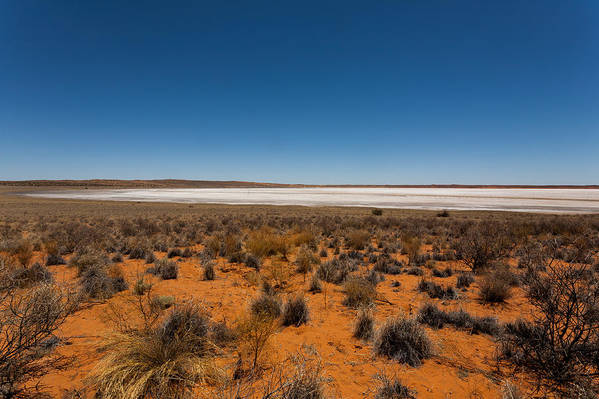 Africa Art Print featuring the photograph Salt Lake by Davide Guidolin