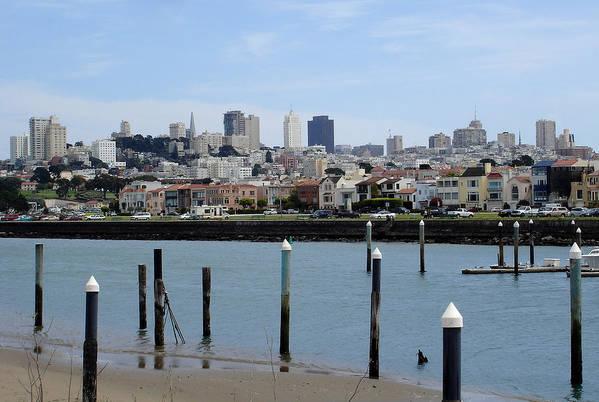 San Francisco Art Print featuring the photograph San Francisco by Michael Simeone