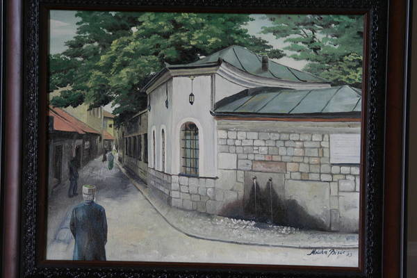 Old Art Print featuring the painting Sarajevo3 by Meliha Bisic