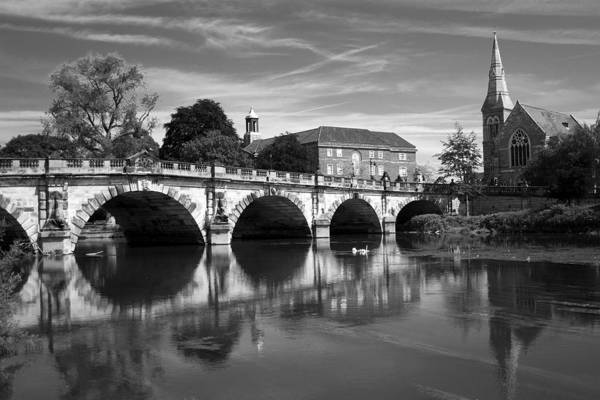 River Art Print featuring the photograph Scenic Shrewsbury by Dave Perks
