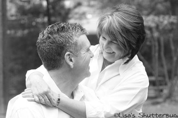 Art Print featuring the photograph Scott And Sandi 2 by Lisa Johnston