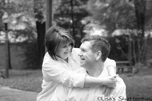 Art Print featuring the photograph Scott And Sandi by Lisa Johnston