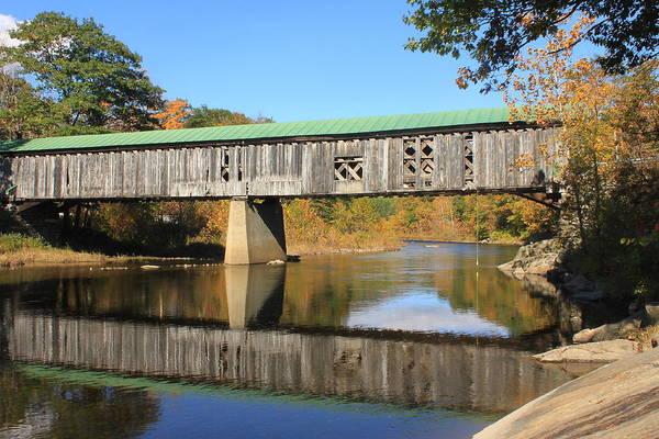 Covered Bridge Art Print featuring the photograph Scotts Covered Bridge West River by John Burk