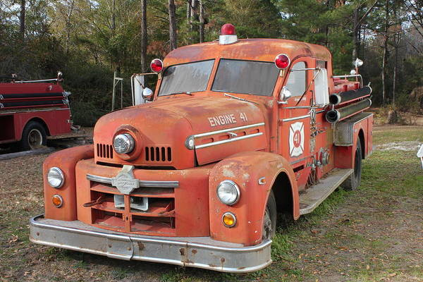 Art Print featuring the photograph Seagrave2 by Thomas Starr