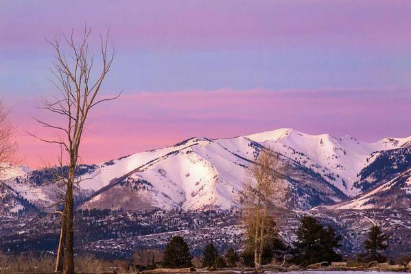 La Plata Mountains Art Print featuring the photograph Serene Sunset by Jen Manganello
