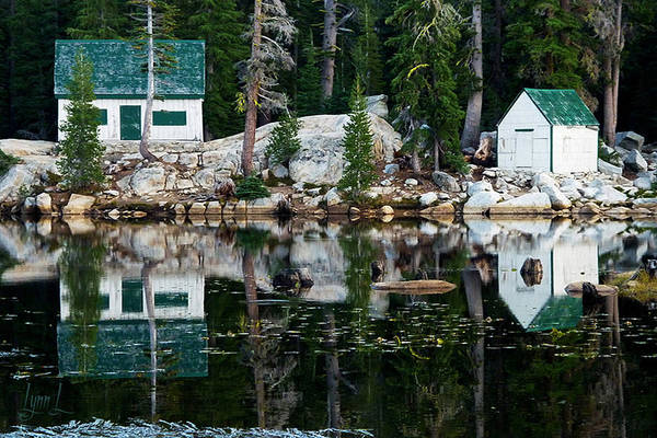 Pond Art Print featuring the photograph Sierra Serenity by S Lynn Lehman