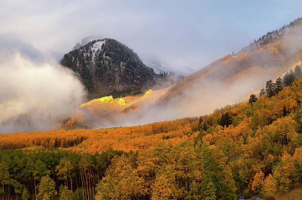 Colorado Art Print featuring the photograph Siever's Mountain by Steve Stuller