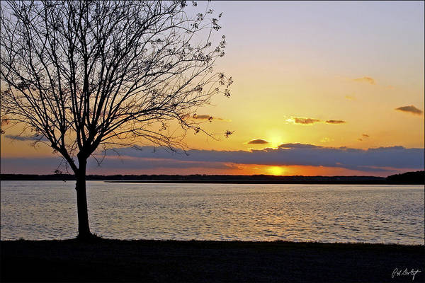 Sunset Art Print featuring the photograph Sinking Sun by Phill Doherty