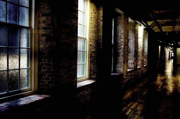 enterprise Mill Print featuring the photograph Slit Scan 5 by Patrick Biestman