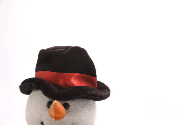 Snowman Art Print featuring the photograph Snowman by Andy Smy