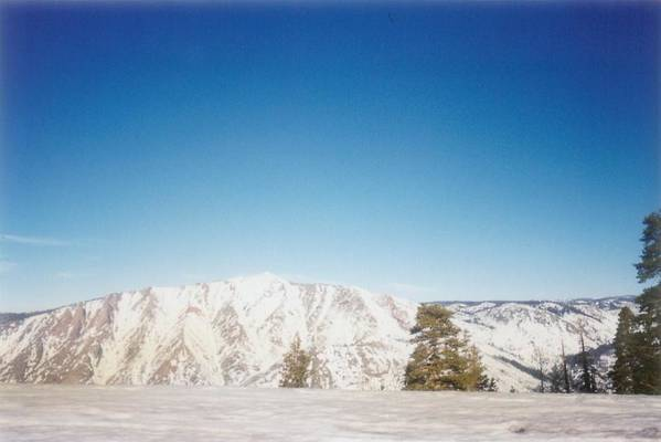 California Art Print featuring the photograph Snowy Mountain by Melissa KarVal