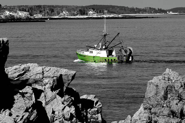 Coast Art Print featuring the photograph Solitude by Greg Fortier