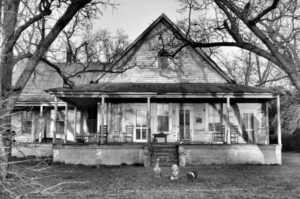 Architectural Print featuring the photograph Southern Comfort by Jan Amiss Photography