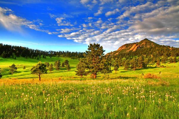 Colorado Art Print featuring the photograph Spiritual Sky by Scott Mahon