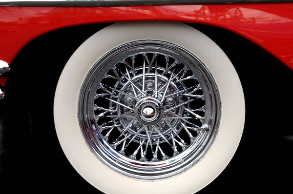 Spokes Art Print featuring the photograph Spokes by Lyle Huisken