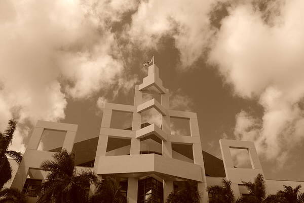 Architecture Art Print featuring the photograph Squares In The Sky by Rob Hans