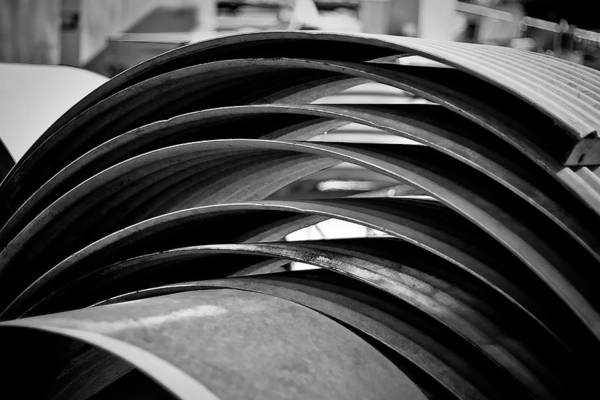Black And White Photograph Art Print featuring the photograph Stacked by Mike Oistad