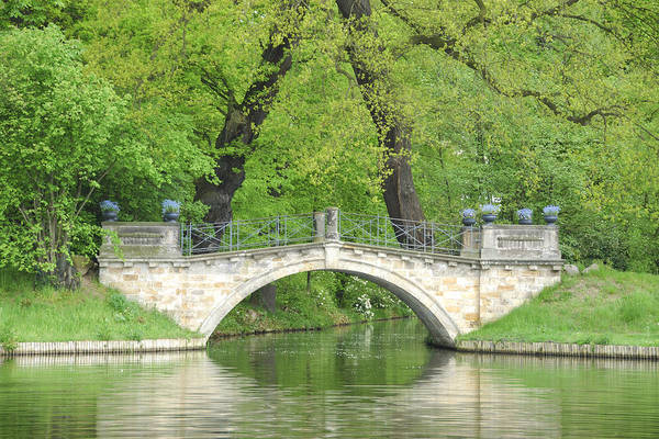 Germany Art Print featuring the photograph Stone Bridge by Frank Remar