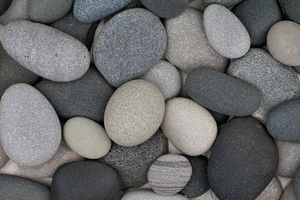 Beach Stones Art Print featuring the photograph Stone Soup by Kathi Mirto