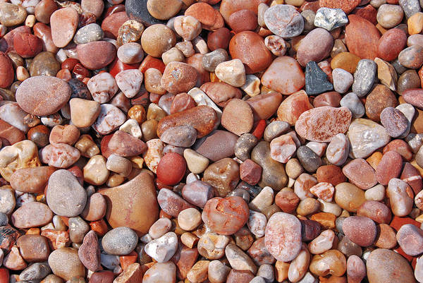 Assorted Art Print featuring the photograph Stones by Jaroslaw Grudzinski