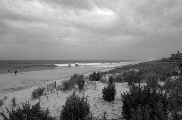 Jersey Shore Print featuring the photograph Storm Approaching - Jersey Shore by Angie Tirado