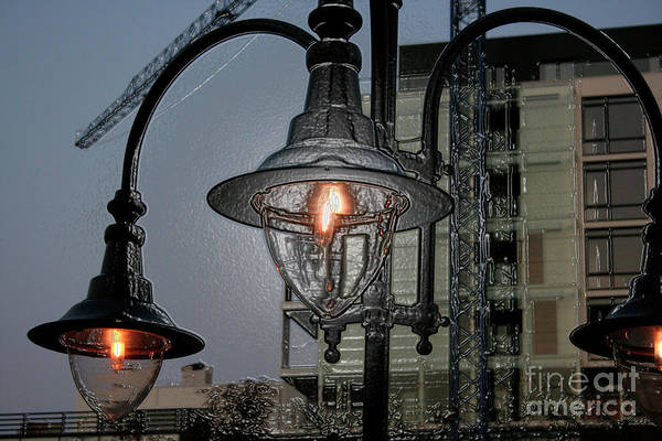 Street Lamp Print featuring the photograph Street Lamp by Yavor Kanchev