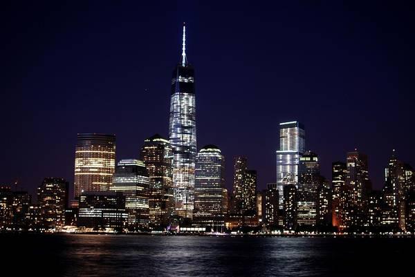 City Art Print featuring the photograph Stunning Nyc Skyline At Night by Matt Quest