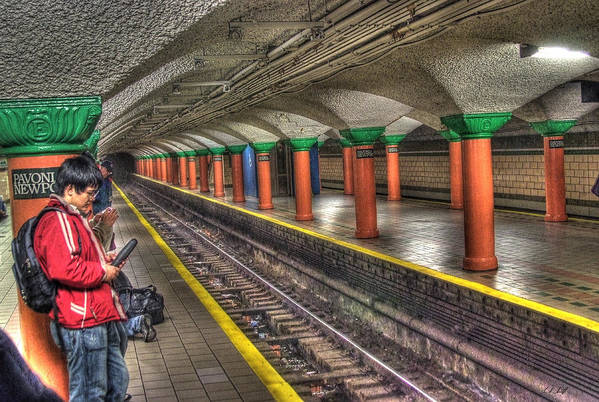 City Art Print featuring the photograph Subway by E R Smith
