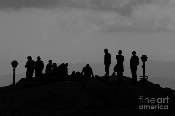Summit Art Print featuring the photograph Summit People by David Lee Thompson