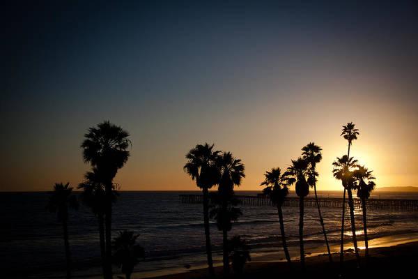 San Clemente Art Print featuring the photograph Sun Going Down In California by Ralf Kaiser