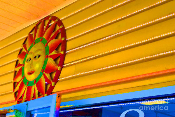 Rehoboth Art Print featuring the photograph Sun Shopping by Jost Houk