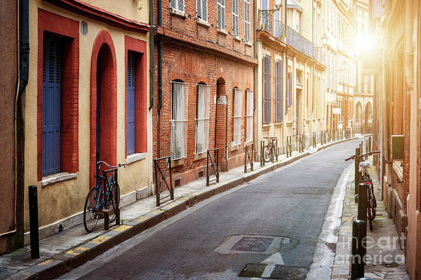 Toulouse Art Print featuring the photograph Sunlight In Toulouse by Elena Elisseeva