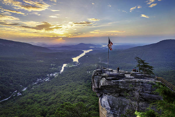 Sunrise Art Print featuring the photograph Sunrise At The Rock by Vinnie F